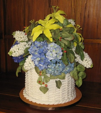 Decorating Your Wedding Cake With Flowers