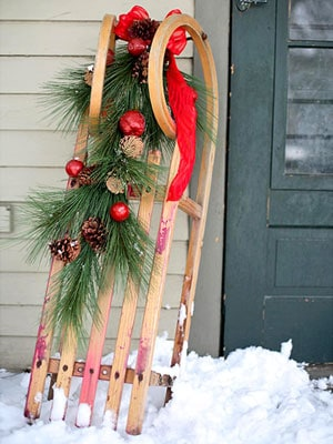 Evergreen Sled