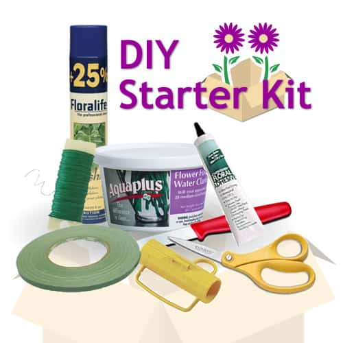 DIY-Wedding Flower starter-kit