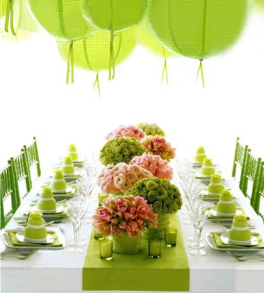 Green Flowers in Your Wedding Arrangements!