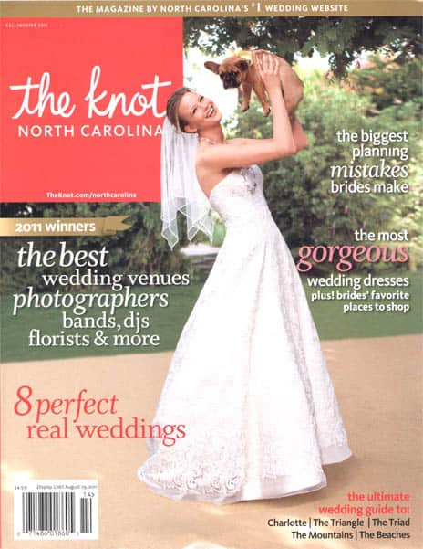 Blooms By the Box is featured in The Knot!
