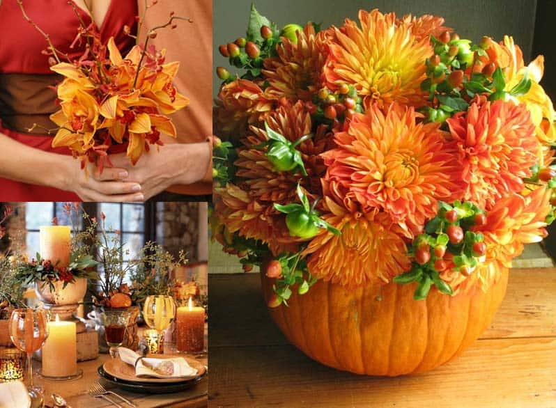 Fall Flower Arrangements for Your DIY Wedding Budget Friendly Beauty