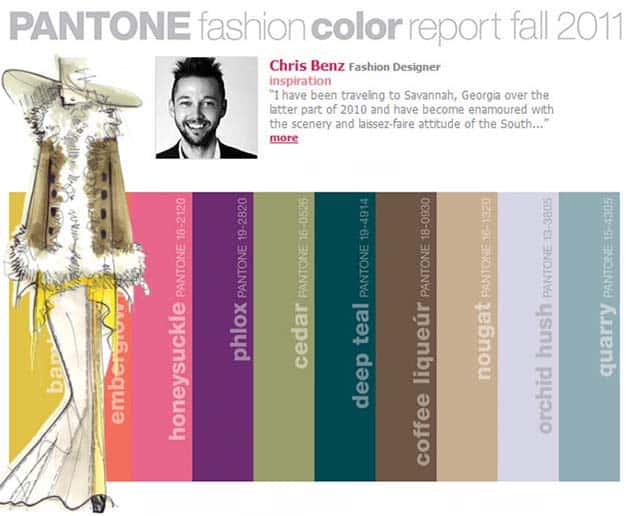 Pantone Fall Fashion Color Report 2011 – Exotic Flower Colors for YOUR Fall Wedding!