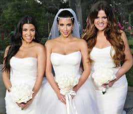 Kim Kardashians Wedding Flowers Simple Classic Looks You Can