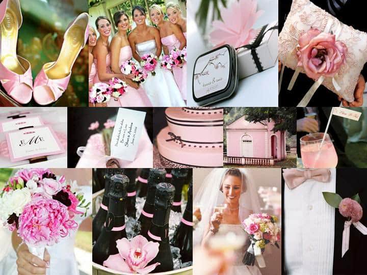 your pink wedding theme