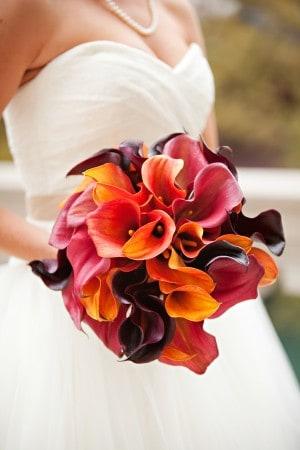 wedding flowers calla lillies