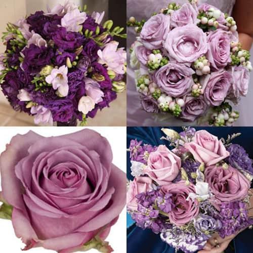 Purple Flower Wedding: Purple Flowers For Your Wedding Color Scheme!