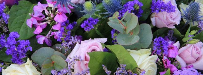Purple Flowers for Weddings
