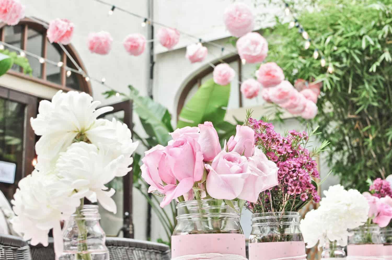 Bridal Shower Flowers – DIY Inspiration