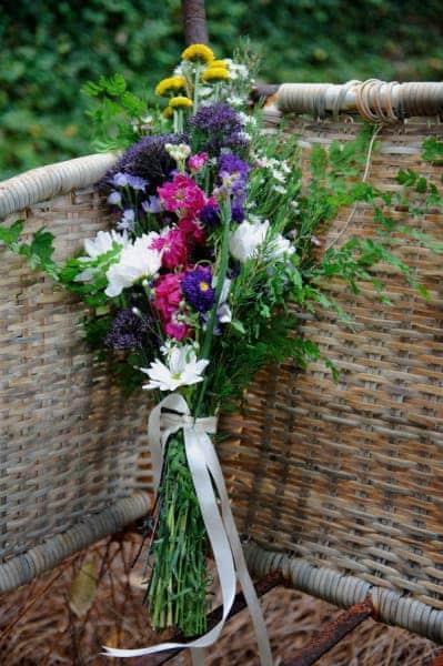 wild flower wedding bouquet - larkspur - Wholesale Wedding ...