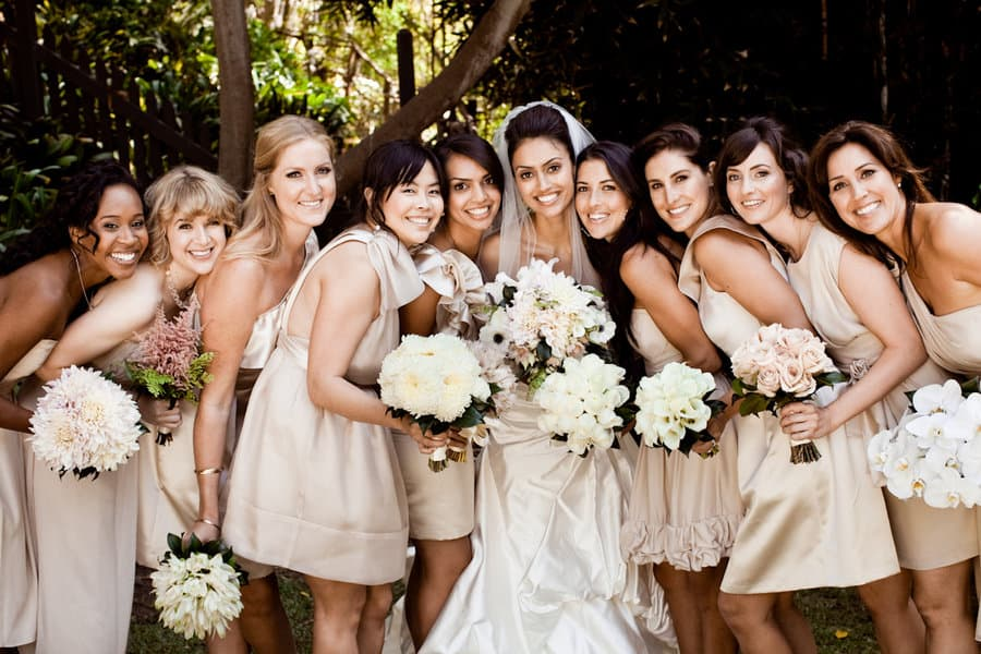 Like Different Bouquet Styles? Make Each Bridesmaids Bouquet a Different Style You Like!