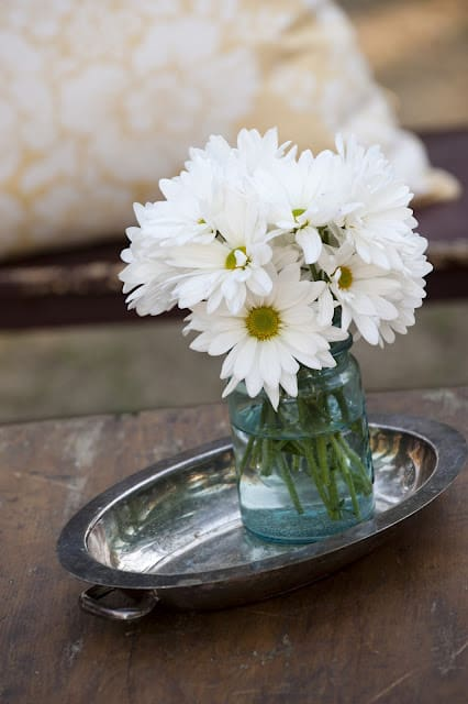 Daisy Wedding Centerpiece