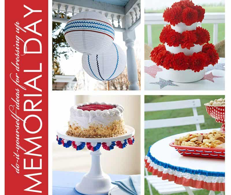 DIY Memorial Day Decor that Doubles as All American Wedding Inspiration!