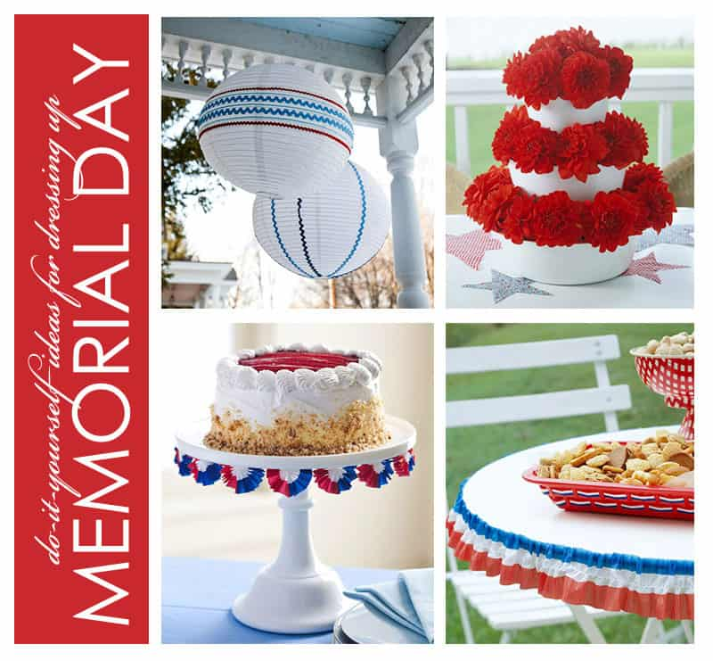 Red White And Blue Memorial Day Wedding