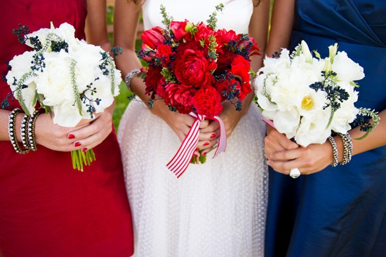 Photo Credit Utah Bride Blog Anyone Else Have More Examples Of Red White And Blue Wedding