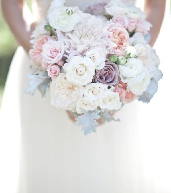 Light Pink and Purple DIY Wedding Flower Inspiration!