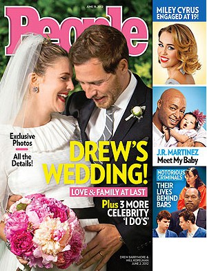 Drew Barrymore's Wedding Flowers!