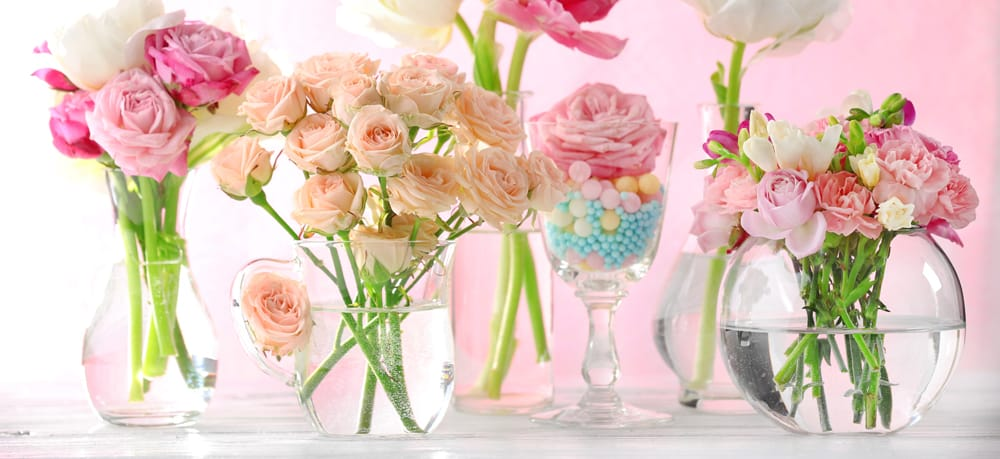 Wedding Flowers In Vases : Bulk glass wedding vases how to pick the best and where