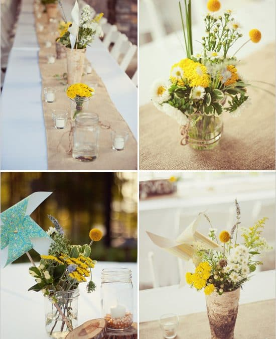 Country Wedding Ideas Flowers: The Secrets To Rustic Do-It-Yourself Wedding Flowers
