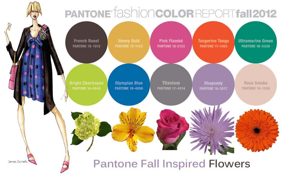 Fall 2012 Pantone Color Report – Fit Trendy Colors with Your Style or Wedding Theme!