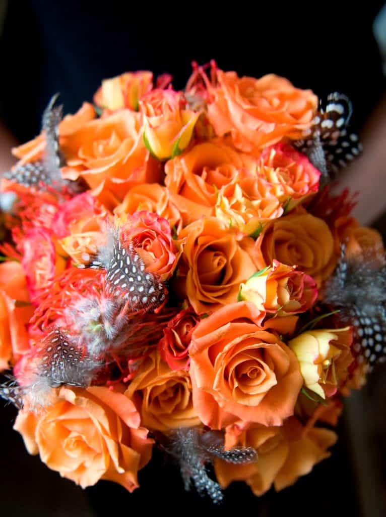 How to Make Halloween Themed Wedding or Event Flowers that are Not ...