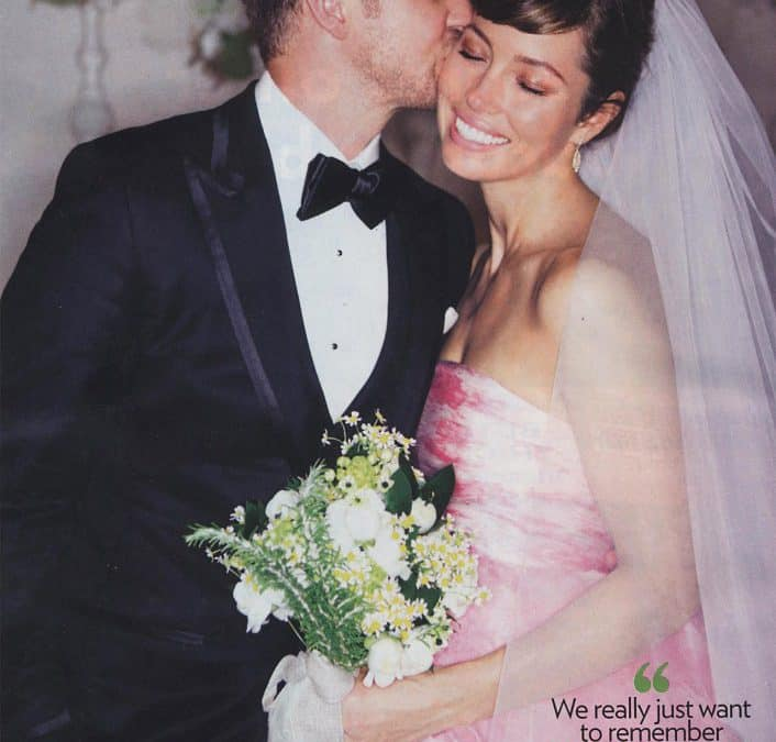 Jessica Biel & Justin Timberlake's Wedding Flowers! Trendy Looks You Can DIY!