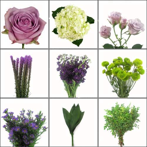 Wholesale Wedding Flower Pack