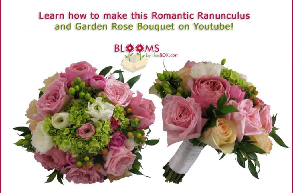 Make a Ranunculus and Garden Rose Bouquet! Video 2 Released Now!
