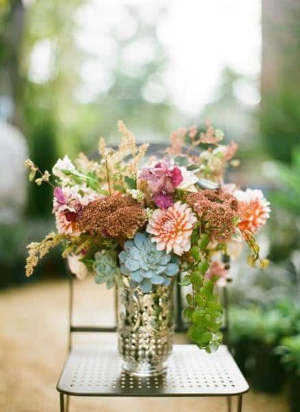 Succulent Centerpiece Wholesale Wedding Flowers