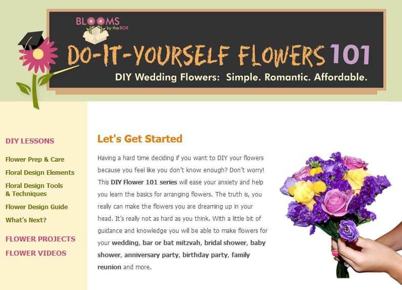 DIY Flowers 101