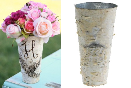 New Fall and Winter Do-It Yourself Wedding Vases