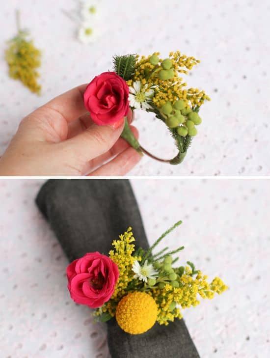 Wedding Napkin Ring 60 Elegant Fresh fLower Napkin ring