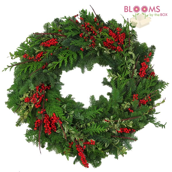 Make A Holiday Wreath with Evergreens