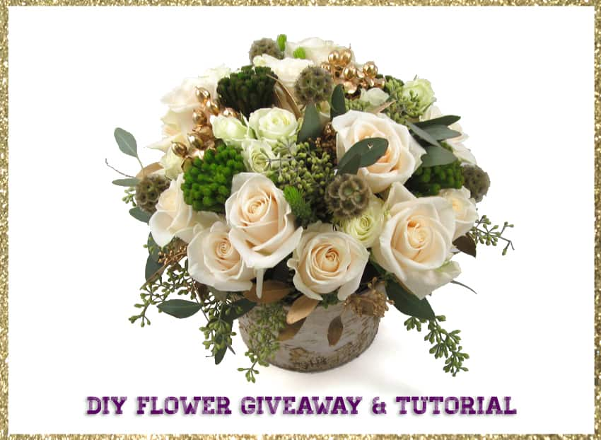 DIY Flower and Vase Giveaway!