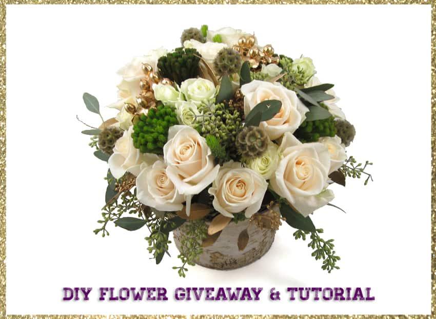 DIY Flower and Vase Giveaway!