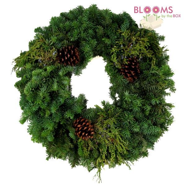 Mixed-Green-Wreath
