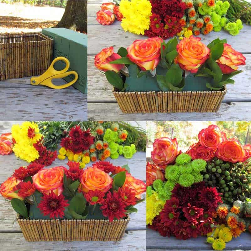 Thanksgiving Flowers Tutorial