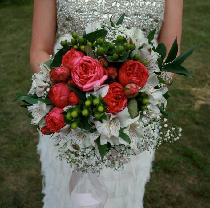 DIY Flowers from a Real Budget Wedding