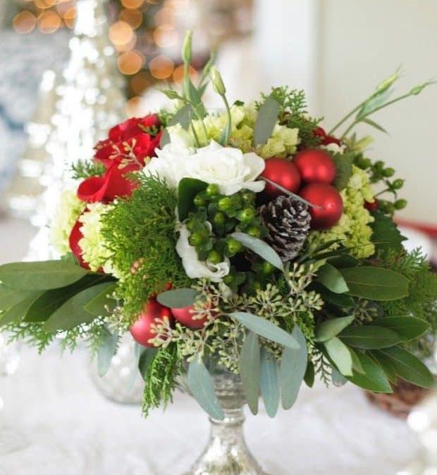 Winter Wedding Flowers with Pizazz!