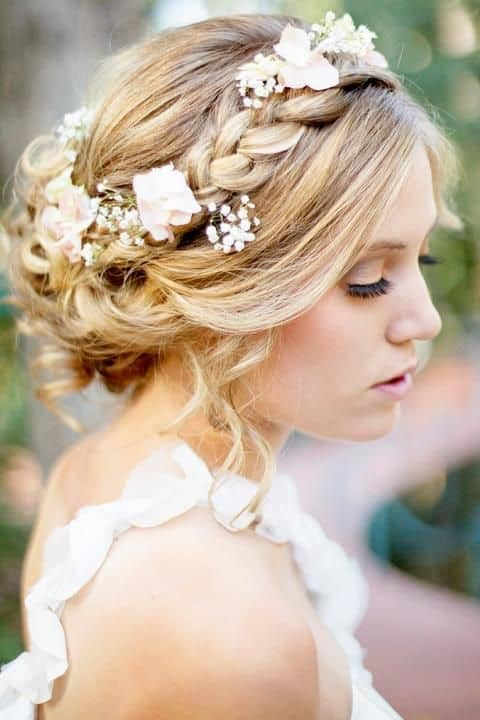 Wedding Flower Hair Designs