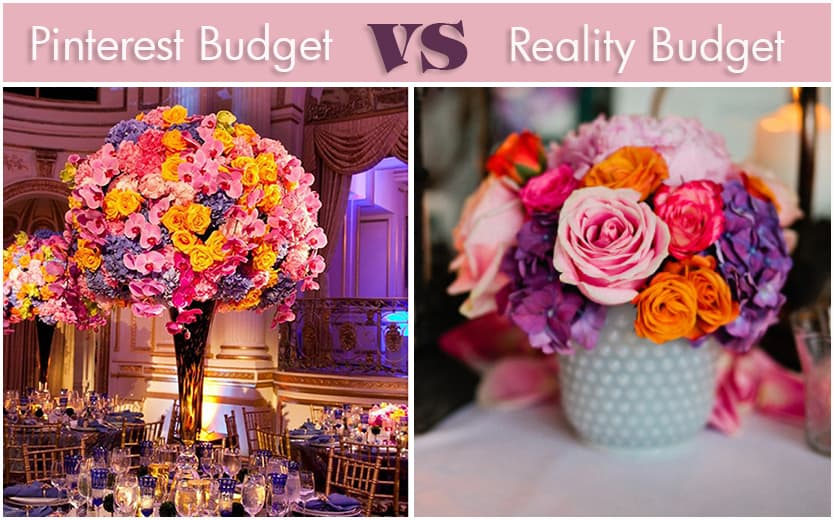 Pinterest Weddings and Reality Budgets – 5 Tips