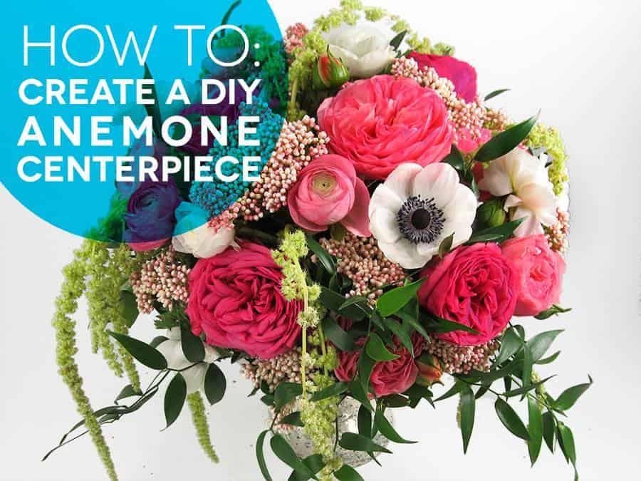 DIY Centerpiece Tutorial - DIY flowers