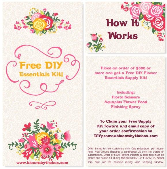 Get A Free DIY Essentials Flower Supply Kit!