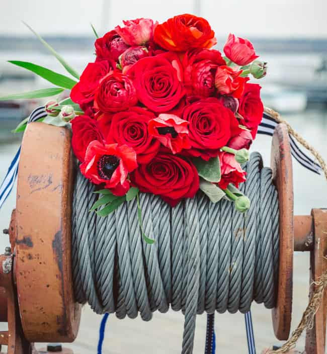 Nautical Wedding Bouquet