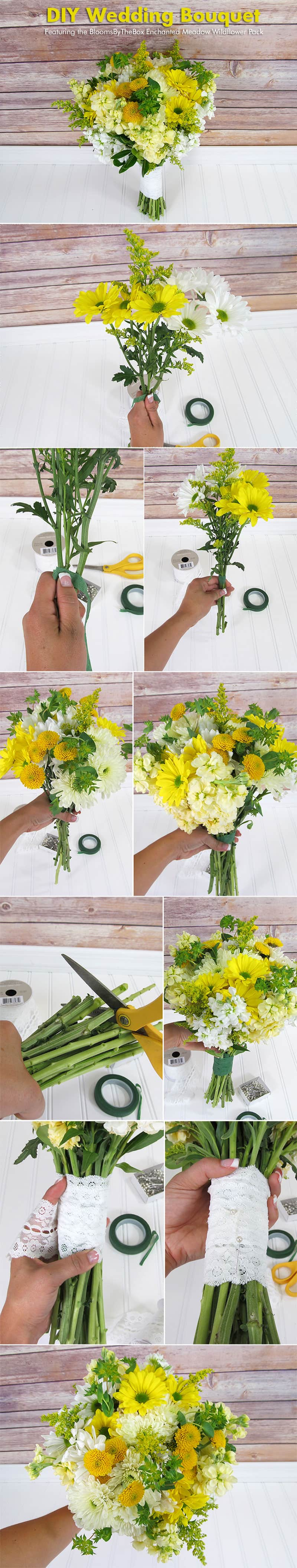 Make A Wildflower Bouquet – Photo Tutorial