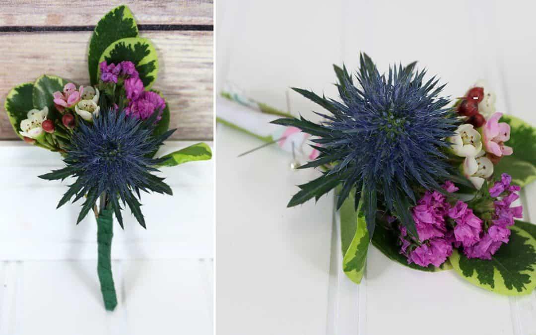 Boutonniere Tutorial – Debunking DIY Flower Myths