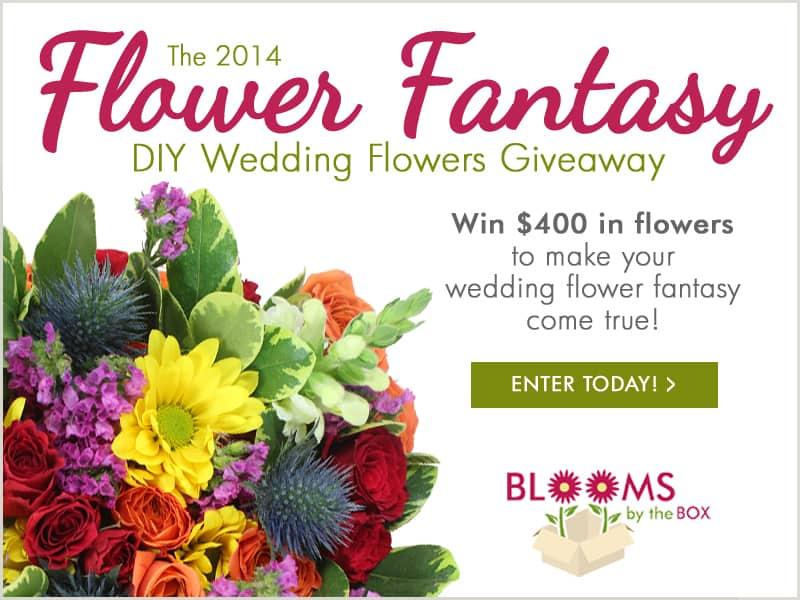 The 2014 Flower Fantasy DIY Wedding Flower Giveaway