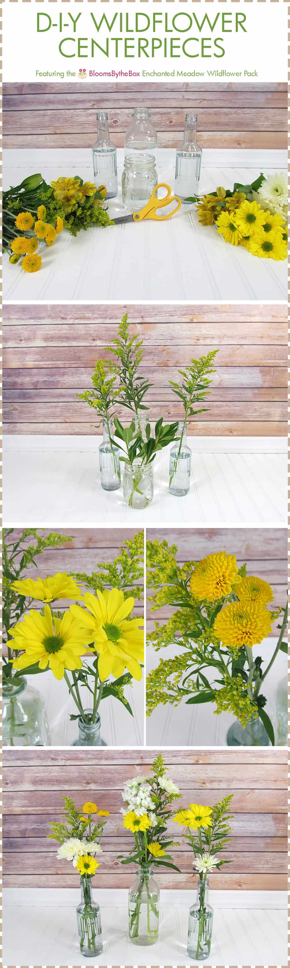 Easy Do It Yourself Wedding Centerpieces
