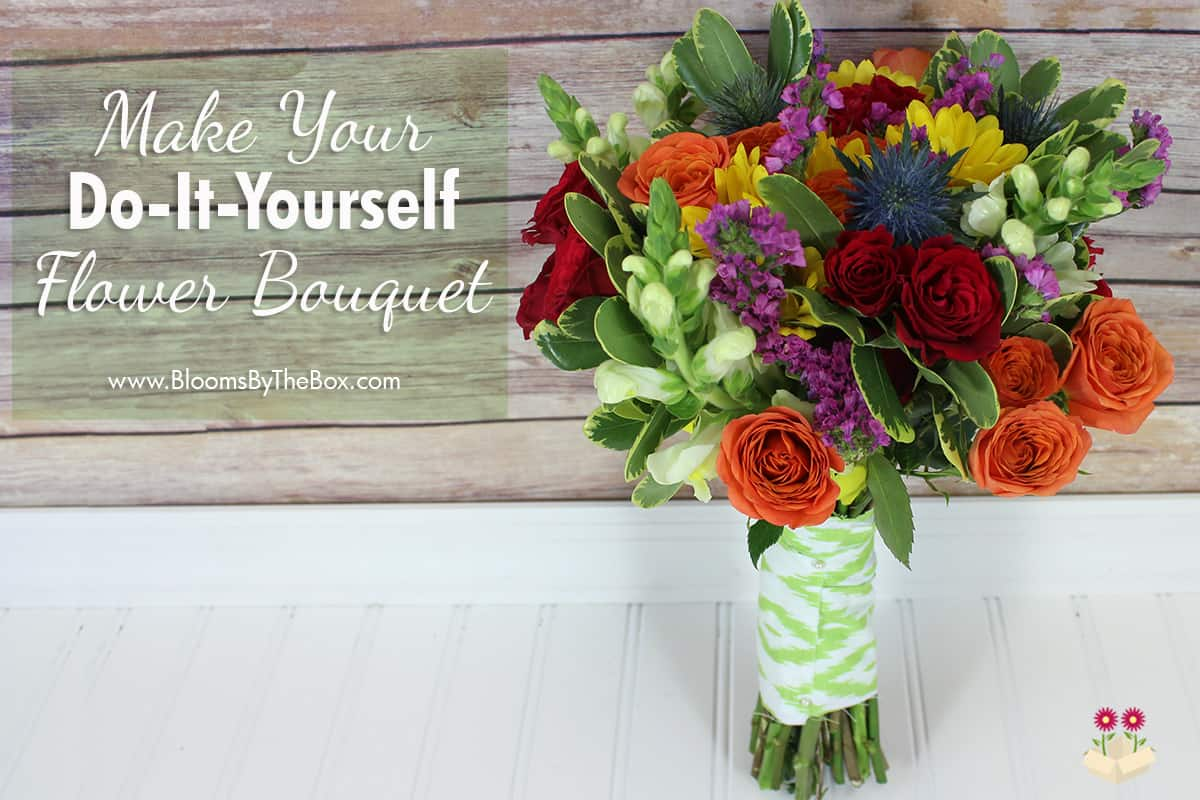 Make a Colorful Bouquet - Tutorial