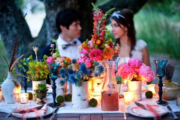 bohemian-flower-table